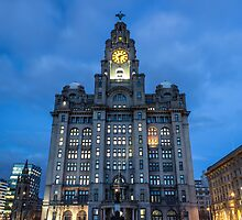The Royal Liver Building by Paul Madden