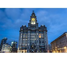 The Royal Liver Building Photographic Print