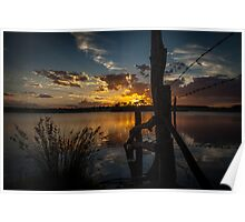 WOW Sky at Sunset Poster