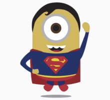 "Minions ""Superman"" Despicable Me T-Shirt Hero by artkrannie"