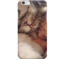 Sleepy Cat iPhone Case/Skin
