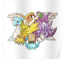 Go Dream Team! | Twitch Plays Pokemon Poster
