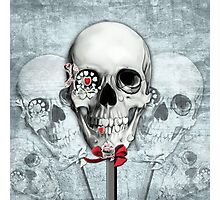 Bittersweet, Americana Candy Skulls Photographic Print