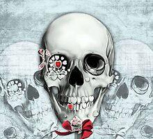 Bittersweet, Americana Candy Skulls by KristyPatterson