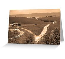 Virginia Countryside Greeting Card