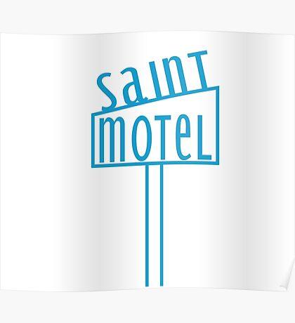 blue motel Poster