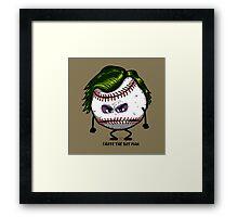 Joker Ball Framed Print