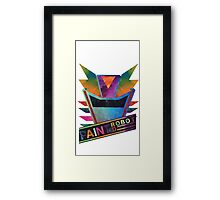 Painted Robot Framed Print