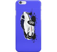 Ford Mustang w/ paint splatter iPhone Case/Skin