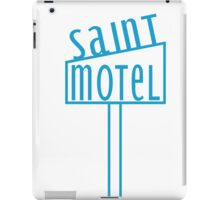 blue motel iPad Case/Skin