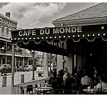 Cafe Du Monde Photographic Print