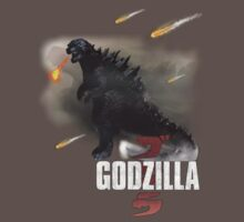 Godzilla 2014 by vanessarainces