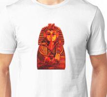 King Tut in Red Unisex T-Shirt