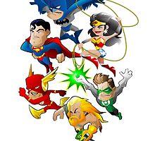 Team Justice by Damien Holder