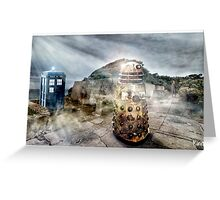 Timey Whimey at Point Nepean Greeting Card