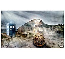 Timey Whimey at Point Nepean Photographic Print