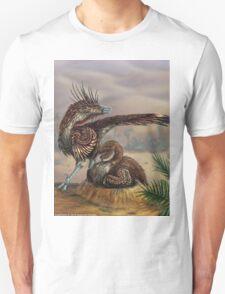 Brooding Velociraptor T-Shirt