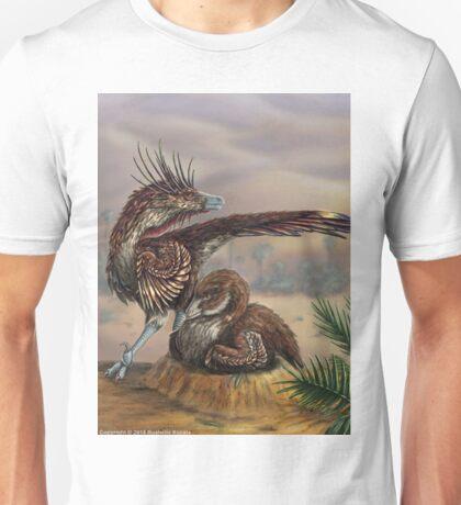 Brooding Velociraptor Unisex T-Shirt