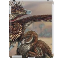 Brooding Velociraptor iPad Case/Skin