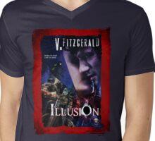 V. Fitzgerald's ILLUSION Mens V-Neck T-Shirt