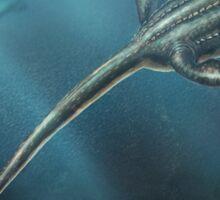 Elasmosaurus Restored Sticker