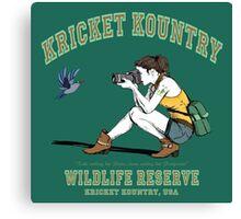 Kricket Kountry Wildlife Reserve:   Official Tee! Canvas Print