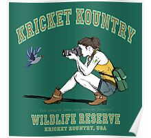 Kricket Kountry Wildlife Reserve:   Official Tee! Poster