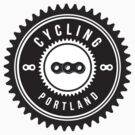 Cycling Portland Black & White by CyclingPortland