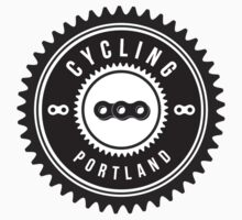 Cycling Portland Black & White by CyclingPortland