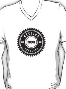 Cycling Portland Black & White T-Shirt