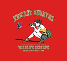 Kricket Kountry Wildlife Reserve:   Official Tee! Women's Fitted V-Neck T-Shirt