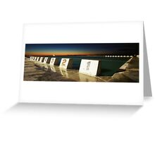 Merewether Baths - First Light Greeting Card