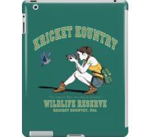 Kricket Kountry Wildlife Reserve:   Official Tee! iPad Case/Skin