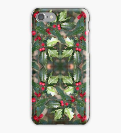 Holly Daze iPhone Case/Skin
