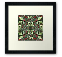 Holly Daze Framed Print