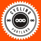 Cycling Portland White & Black by CyclingPortland