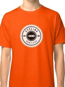 Cycling Portland White & Black Classic T-Shirt