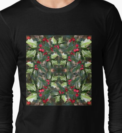 Holly Daze Long Sleeve T-Shirt