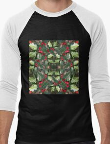 Holly Daze Men's Baseball ¾ T-Shirt
