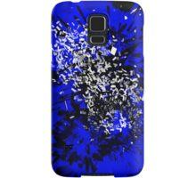 Blue Paint Splatter Samsung Galaxy Case/Skin