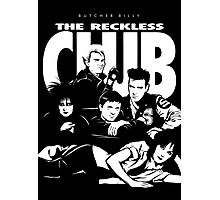 The Reckless Club Dark Photographic Print
