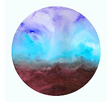 Gathering Your Storm - Abstract Watercolor Painting Photographic Print