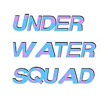 Under Water Squad - It G Ma Photographic Print