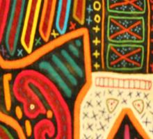 Mayan warrior Sticker