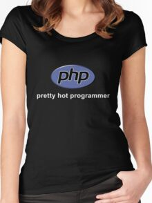 Php - Pretty Hot Programmer Women's Fitted Scoop T-Shirt
