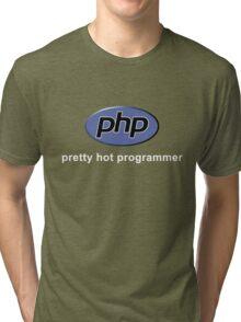 Php - Pretty Hot Programmer Tri-blend T-Shirt