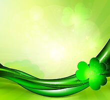 St. Patrick's background by Olga Altunina