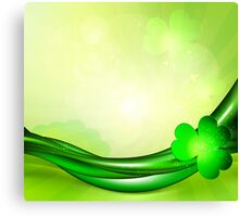 St. Patrick's background Canvas Print