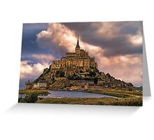 On The Coast Of Normandy Greeting Card