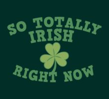 So totally IRISH right now by jazzydevil